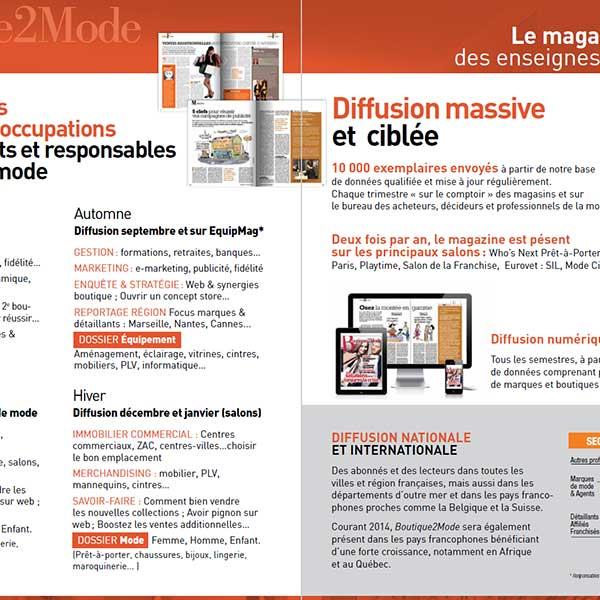 Kit média B2M et l'echommerces EN